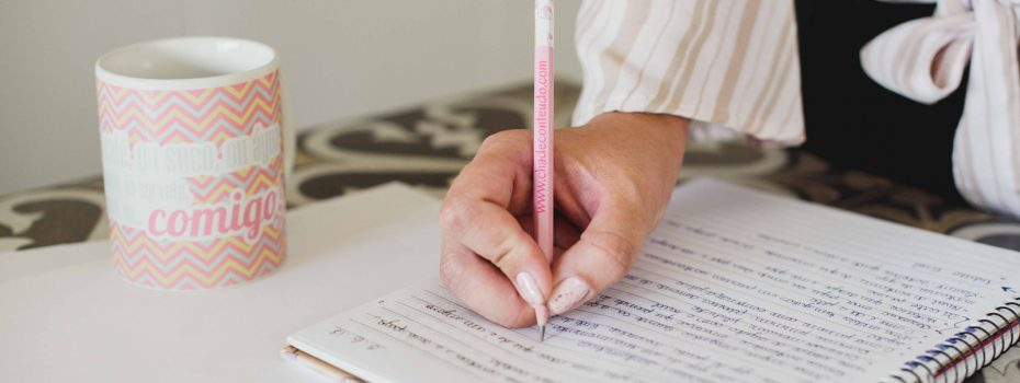 escrita como cura para a mente