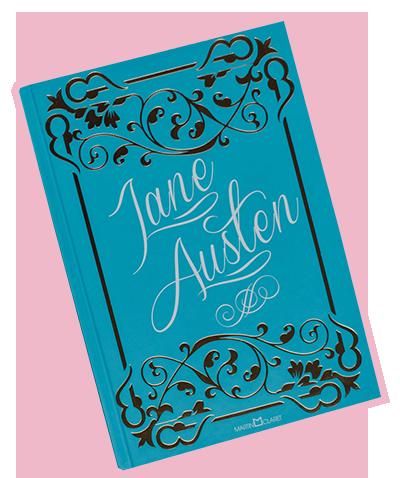 coletânea Jane Austen com Mansfield Park, Emma e A Abadia de Northanger