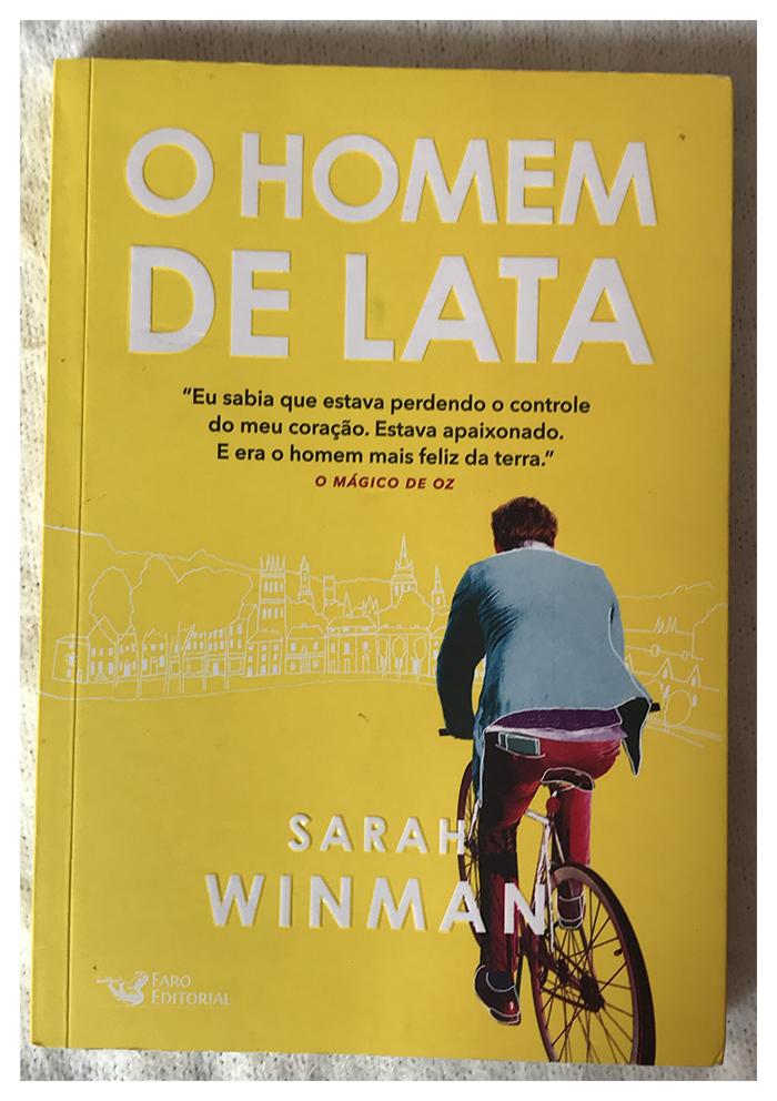 Capa do livro O Homem de lata, de Sarah Winman
