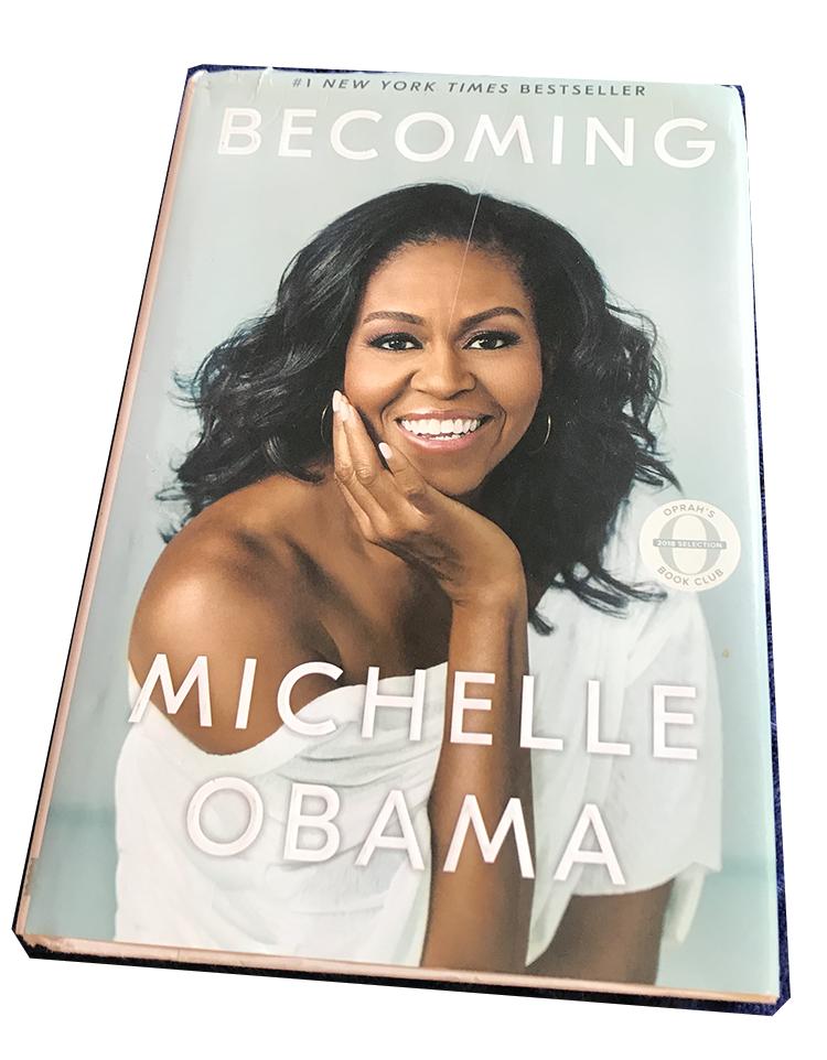Capa da biografia de Michelle Obama